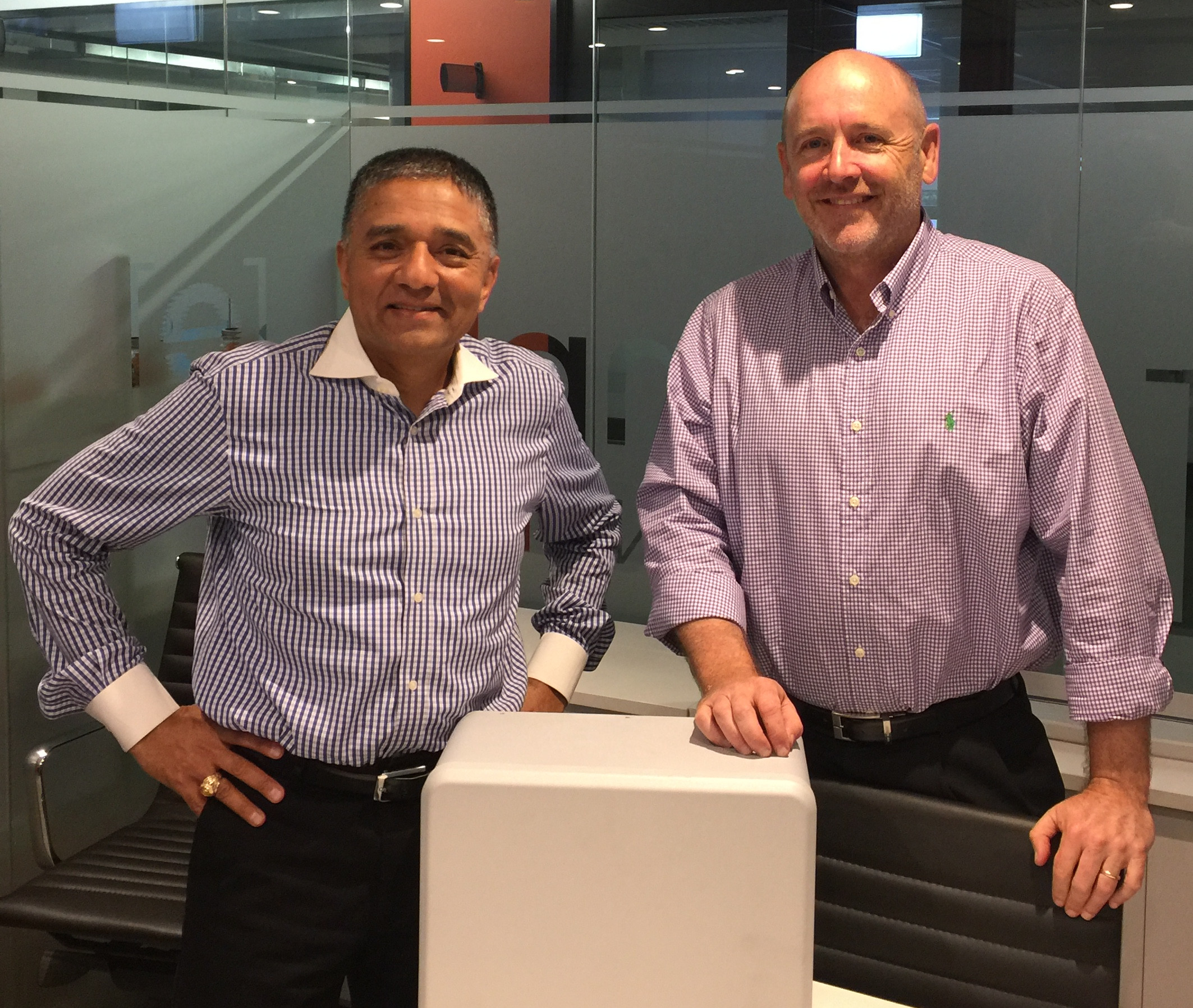PureGen meets with EnPhase founder